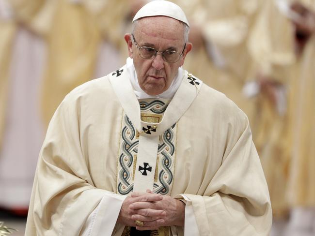 Pope Francis has said his demand for proof of accusations of abuse is tantamount to a slap in the face of victims. Picture: AP