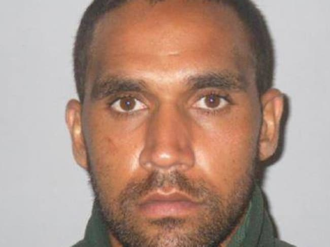 Kyran Hubert John Naden is on the run after escaping from police custody overnight.