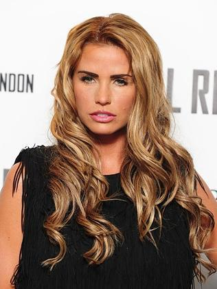 Brits of today ... model Katie Price exemplifies the new sun-kissed Brit. Picture: Ian West