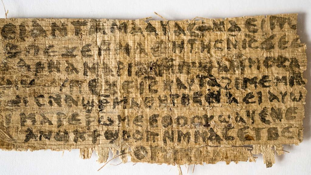 A fourth century fragment of papyrus, believed to be fake, quotes Jesus explicitly referring to having a wife. Like the new Dead Sea Scrolls that attack homosexuality, it is the very 'topicality' and 'marketability' of such messages that raise the suspisions of researchers.