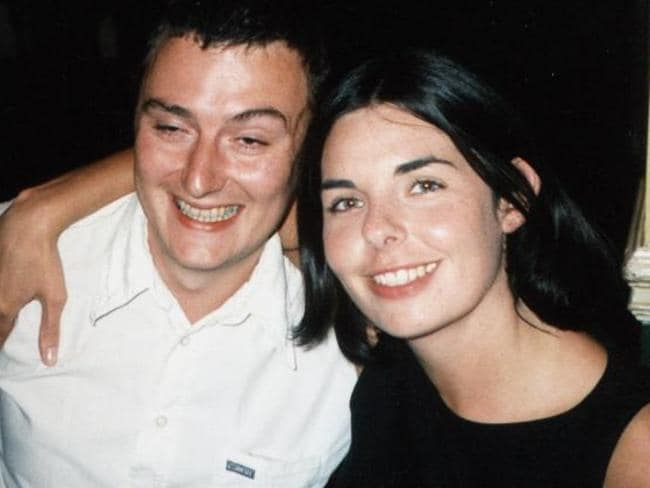 British tourist Peter Falconio with girlfriend Joanne Lees.