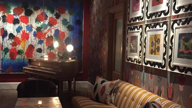 The clashing mix and match and prints and patterns make the hotel even more lived-in and loveable.