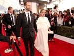 Benjamin Millepied and actor Natalie Portman attend The 23rd Annual Screen Actors Guild Awards at The Shrine Auditorium on January 29, 2017 in Los Angeles, California. Picture: Getty