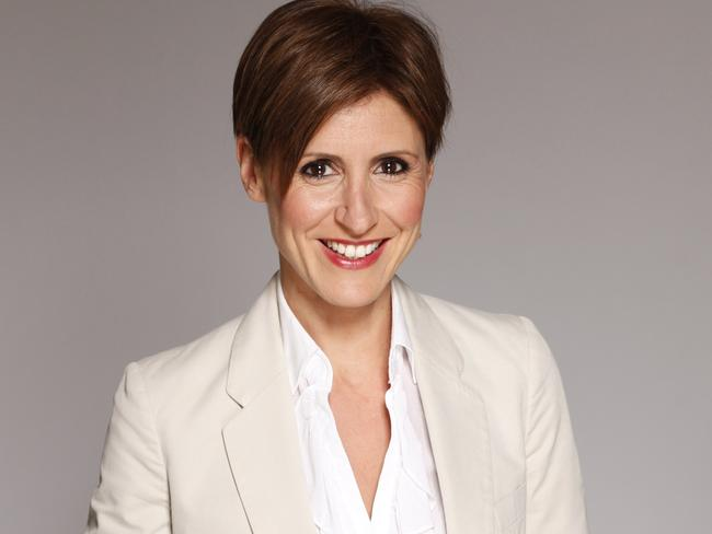 Emma Alberici hosts the long-running ABC program Lateline. Picture: ABC
