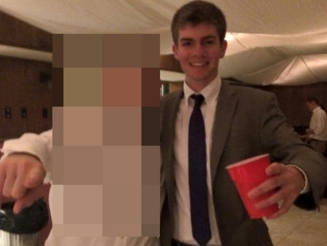 Brendan Young (above) said he was due to intern at JPMorgan Chase and wanted to work for the FBI. Picture: hercampus.com.