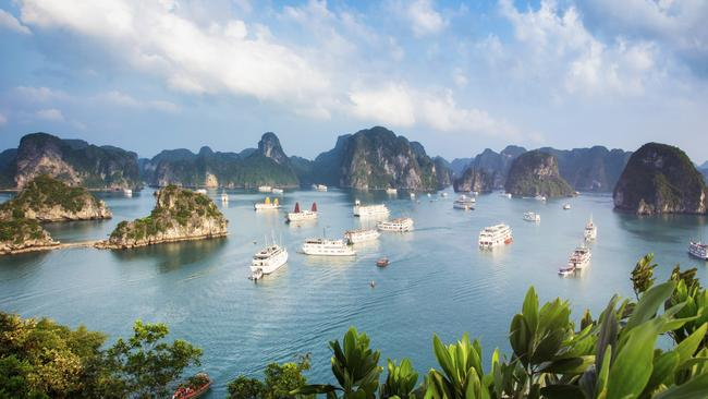 Vietnam has food, culture and scenery — like Ha Long Bay.