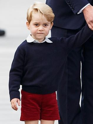 Pippa's nephew Prince George will be page boy. Picture: Getty Images