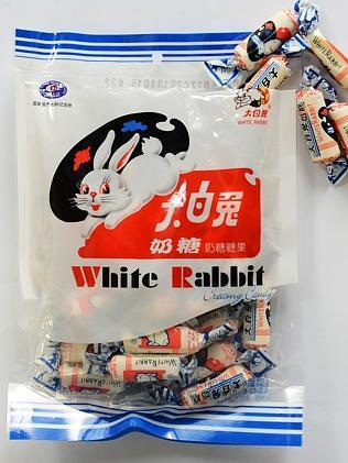 White Rabbit ... you can eat the wrapper and all.