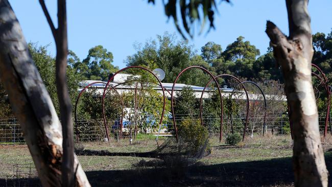 A property in Osmington, the scene of a crime scene where seven people were found dead. Picture — Justin Benson-Cooper / The West Australian