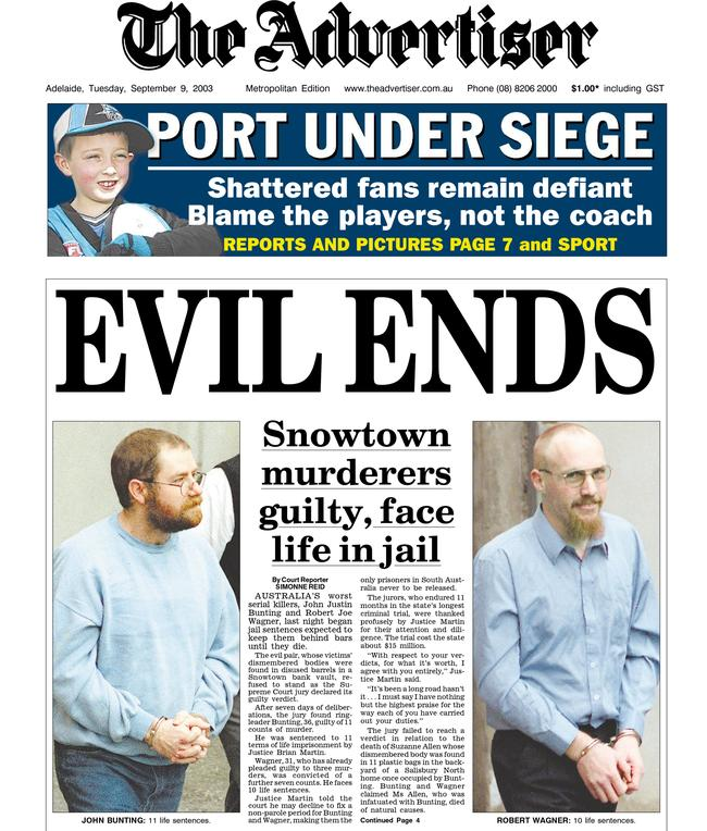 The Snowtown murders rocked the country.