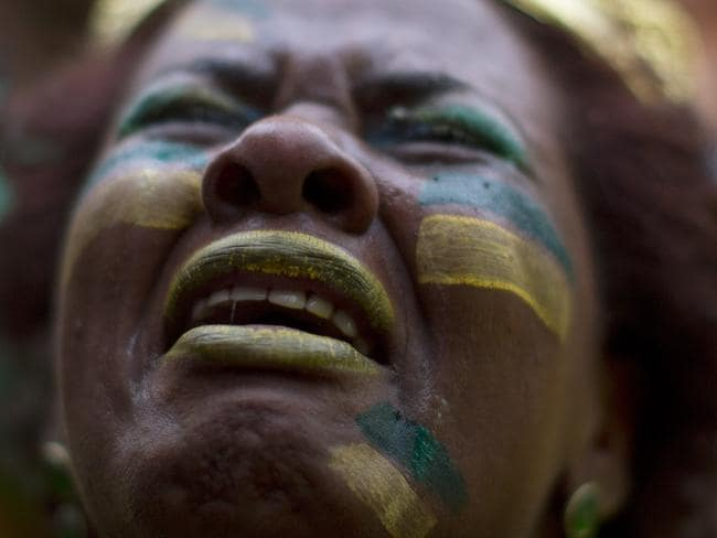Brazil's shocking loss was felt across the country.