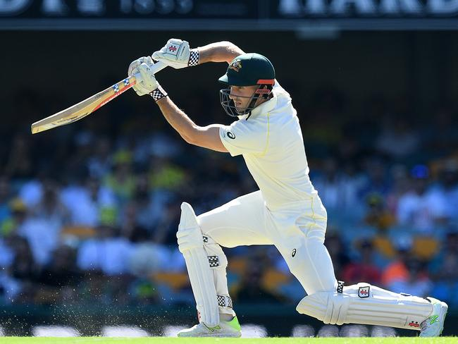 Shaun Marsh drives beautifully.