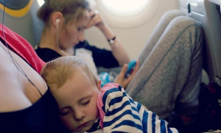 Four planes in 24 hours with three kids. Yup, it's as bad as it sounds