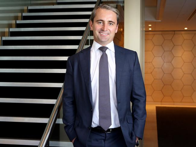 Matt Comyn was announced as the next CEO of the Commonwealth Bank on Monday. Picture: James Croucher
