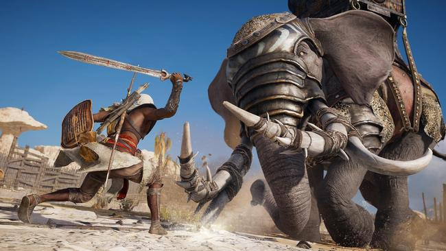 Do battle in Ancient Egypt in the latest in the Assassin's Creed franchise.