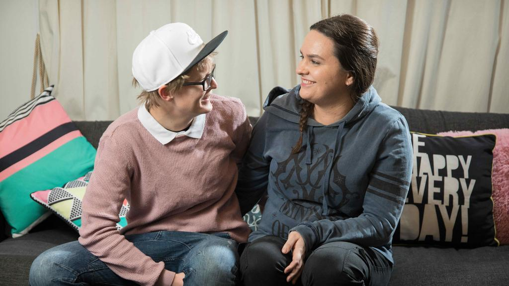"""Adelaide couple Kira Pattinson and Shauna Turner have already had a commitment ceremony and are hoping they can make it a marriage. (Pic: James Elsby/AAP).  <a capiid=""""9bf2451547acf5d450ab45bdf6865553"""" class=""""capi-video"""">Gay couple Rebekah and Bianca Biasi describe what it was like to have twin daughters</a>"""