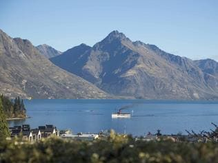 View over Lake Wakatipu, Queenstown from Hulbert House. Picture: Hulbert House