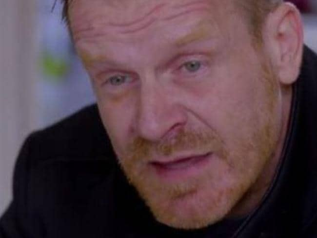 Marco Robinson sheds tears as he gives homes to struggling families. Picture: Channel 4