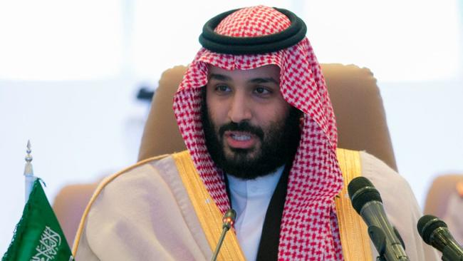 Saudi Crown Prince Mohammed bin Salman is leading a crackdown on ill-gotten gains by his country's elite. Picture: Saudi Press Agency via AP