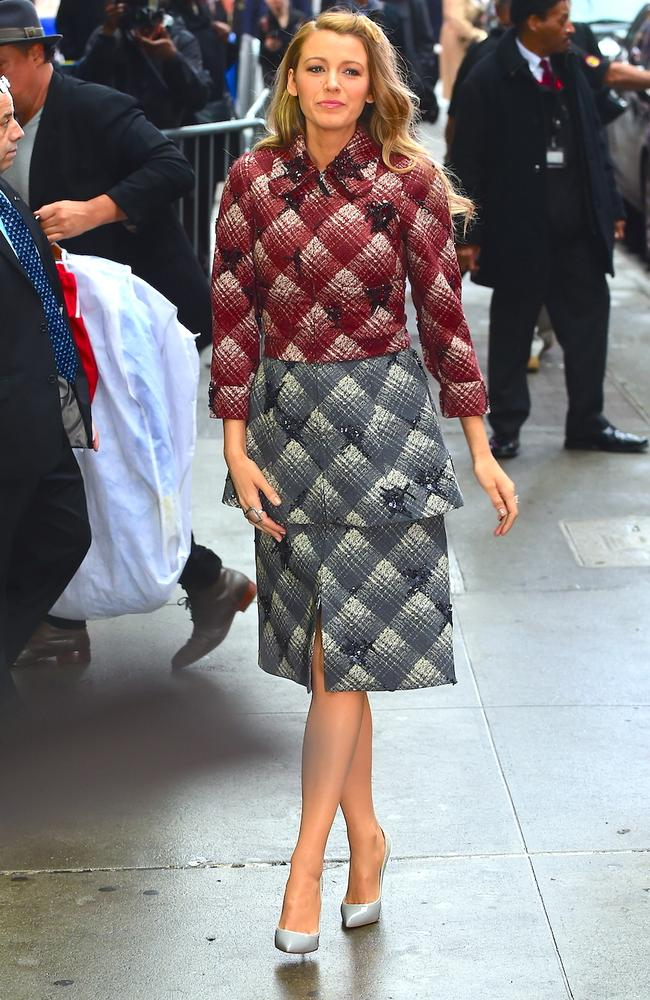 Blake Lively wears eight outfits in one day