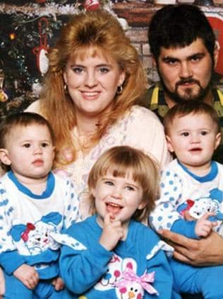 Cameron Todd Willingham and family. Picture: Supplied