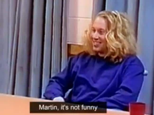 Chilling ... video of Martin Bryant's police interviews has been released. Picture: Channel Seven/Sunday Night