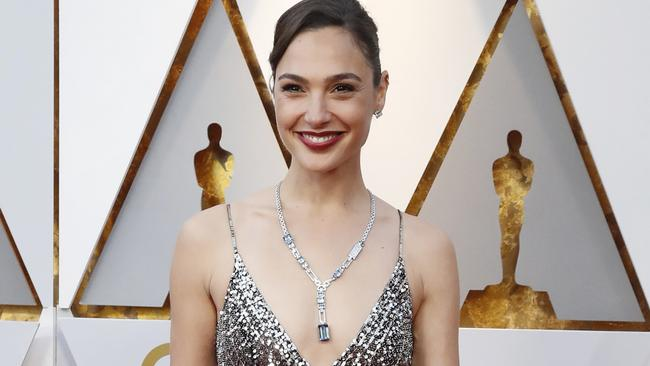 Gadot at the Oscars. Picture: Reuters/Mario Anzuoni