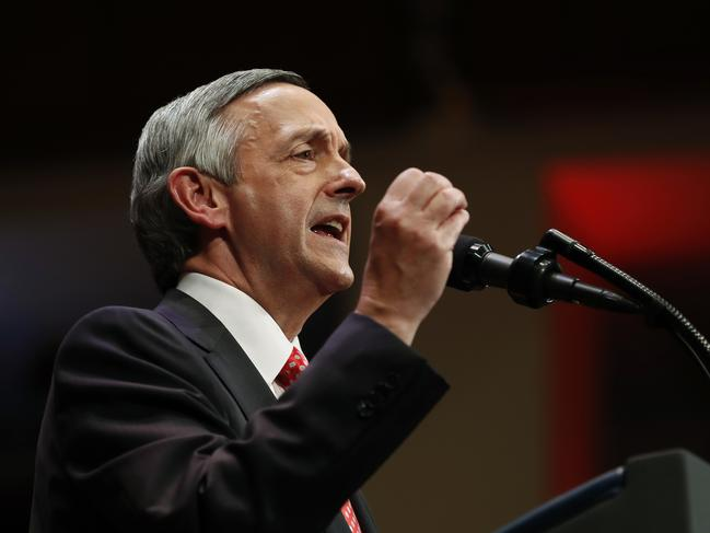 Pastor Robert Jeffress, of the First Baptist Church in Dallas. Picture: AP