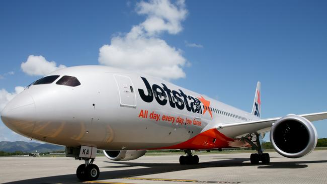 Jetstar could become Australia's main international carrier. Picture: Stewart McLean