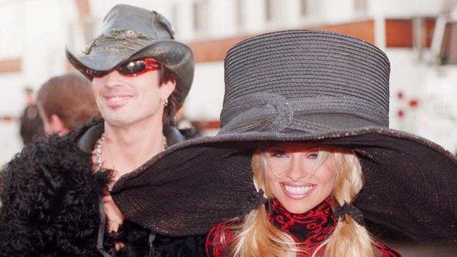 Four day romance ... Tommy Lee and Pamela Anderson.