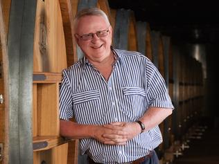 Winemaker Bruce Tyrell. Supplied