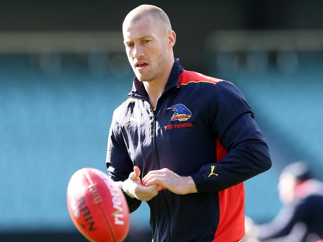 Adelaide's Scott Thompson will return to the team this week. Picture: Sarah Reed