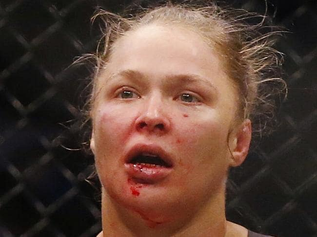 'Ronda Rousey is a quitter'