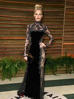 British model Poppy Delevingne attends the 2014 Vanity Fair Oscar Party. Picture: Getty