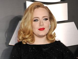 Singer Adele arrives at the 54th Annual GRAMMY Awards held at Staples Center on February 12, 2012 in Los Angeles, California. (Photo by Larry Busacca/Getty Images For The Recording Academy)