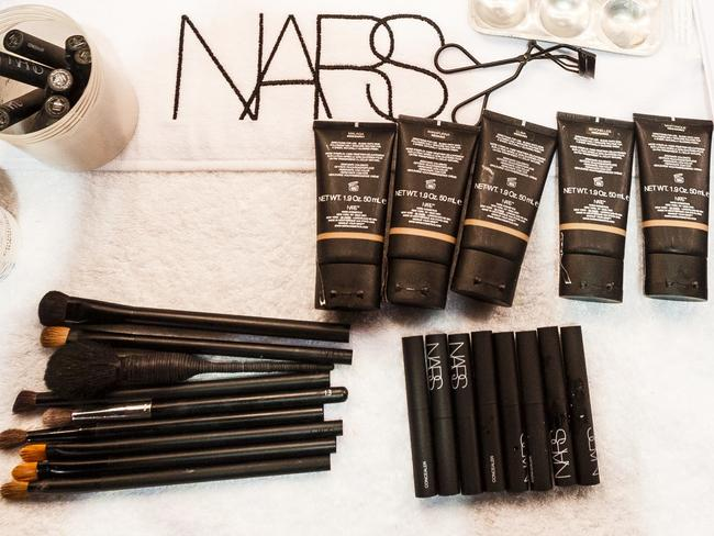 Founded by French makeup artist François Nars in 1994, Nars is a hugely popular cosmetics brand. Picture: Getty Images