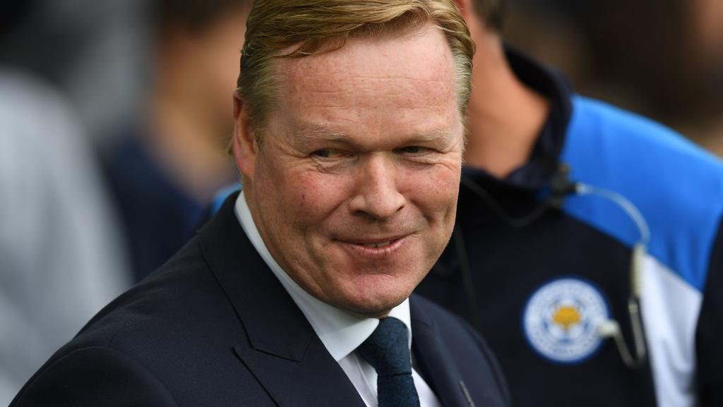 Everton's Dutch manager Ronald Koeman.