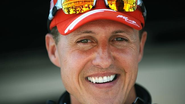 'Responding well': Michael Schumacher has been receiving round-the-clock care in Grenoble Hospital.