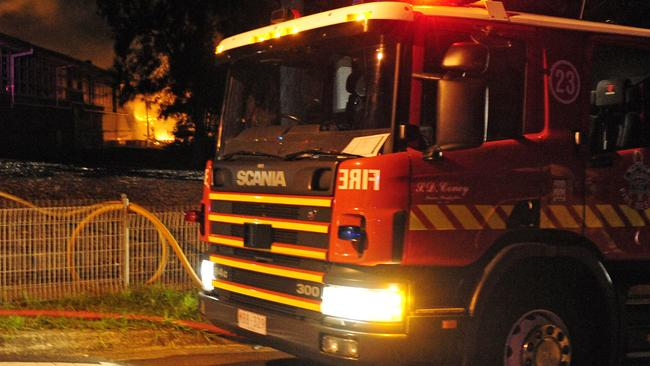 Fire rips through two-storey home in Kew East