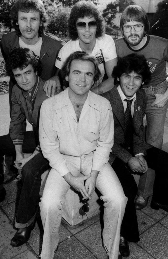 The way they were ... The Little River Band in 1977. Picture: News Corp Ausralia