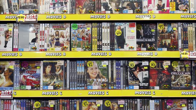 New-release DVD sales rose in Australia last year, though overall sales dropped 11 per cent, according to AHEDA.