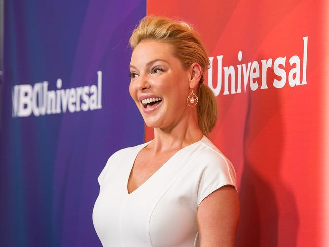 Fresh start ... Katherine Heigl promotes her new TV show in Beverly Hills, California. Picture: Getty