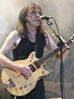 "2. Malcolm Young (AC/DC) - ""When people think about the riffs that defineAC/DC, they are the rock solid rhythms of Malcolm,"" Rolling Stone editor in chief Matt Coyte. Picture: Charles Brewer"