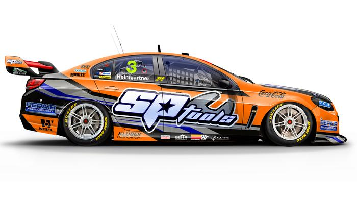Andre Heimgartner's No. 3 Lucas Dumbrell Motorsport Holden Commodore
