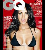<p>Actress Megan Fox on the cover of GQ Magazine.</p>