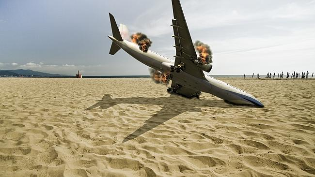 Don't worry, turbulence won't make your flight end like this. Picture: Thinkstock