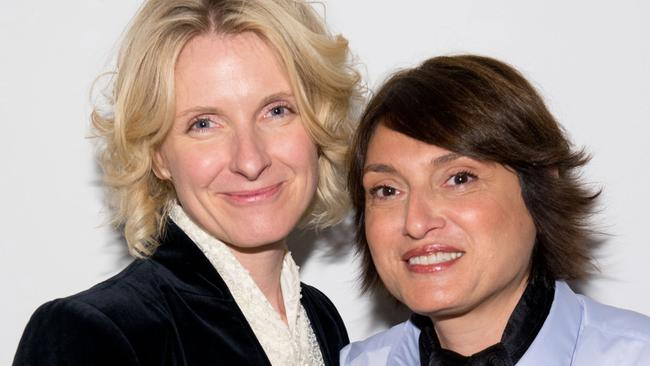 Eat Pray Love author Elizabeth Gilbert with her best friend and now lover  Rayya Elias  News com au