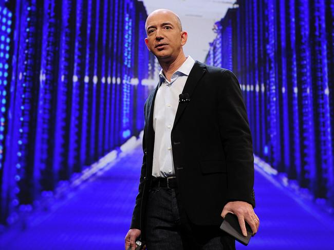 Amazon founder US billionaire Jeff Bezos. Picture: AFP.