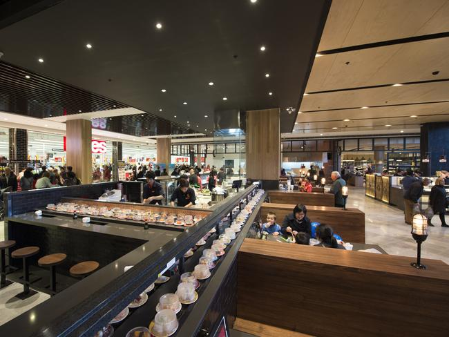 The revamped Fresh Food Market at the Macquarie Centre.