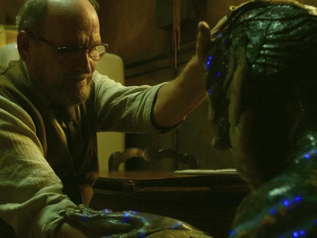 Richard Jenkins, left, and Doug Jones in a scene from The Shape of Water. Picture: Fox Searchlight Pictures via AP